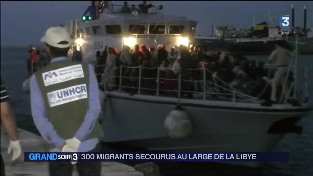 300 migrants secourus au large de la libye vid o for Piscine b24