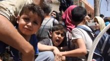 Civilians caught in terrifying crossfire in Mosul