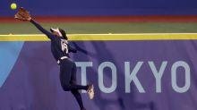 Day 4 roundup: Stunning gymnastics loss, 50 straight women's hoops wins