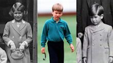 As Prince George turns seven, what other royals looked like at the same age
