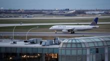 United chief met Chinese officials over dragged passenger