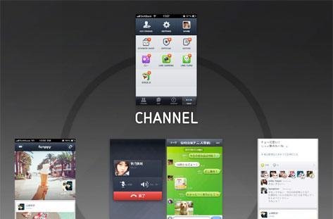 Line messaging and VoIP app adds 'timeline' and 'home' features, throws in new platform for app integration