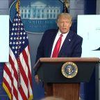 Trump blames Democratic-run states for inflating coronavirus death toll