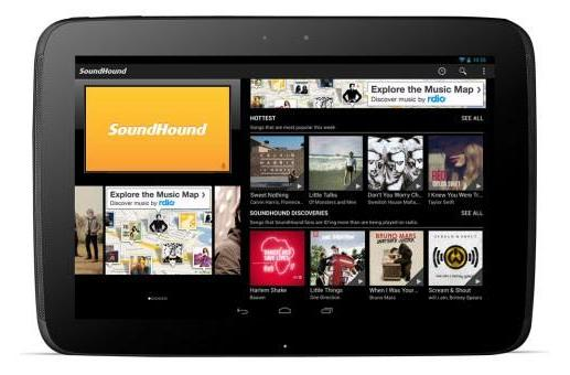 SoundHound now scavenging tunes in more tablet-friendly Android version
