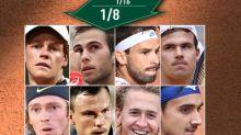 Roland-Garros (H) - Roland-Garros: Sinner, Dimitrov, Rublev, Gaston... Les nouveaux venus des huitièmes de finale