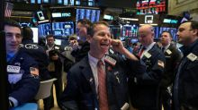 Stocks rally on trade hopes, dollar has 1st weekly gain of 2019