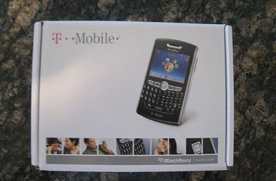 T-Mobile's BlackBerry 8800 unboxed