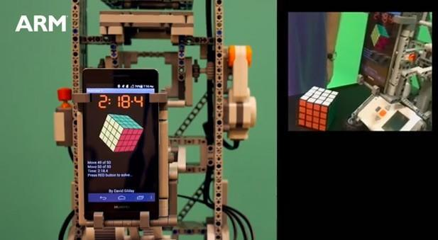 Huawei Ascend P6 solves 4 x 4 Rubik's Cube in 50 moves, considers meaning of life (video)