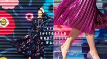 時尚名人都以它們為 #OOTD 背景!這些塗鴉牆,是紐約現時最時尚的打卡點!