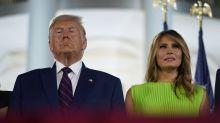Trump und First Lady positiv auf Coronavirus getestet