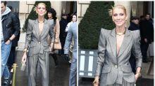Céline Dion preocupa en la Paris Fashion Week con su delgadez extrema