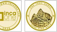 Inca One Gold Bullion Store to Launch September 17, 2020