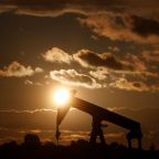 U.S. crude ends lower for record eleventh consecutive session