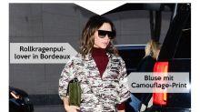 Look des Tages: Victoria Beckham verleiht dem Monochrom-Look Farbe