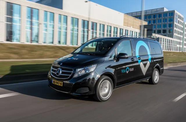 Mercedes' ridesharing ViaVan service comes to London