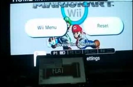 FLATMII streams games to your Wii, via USB