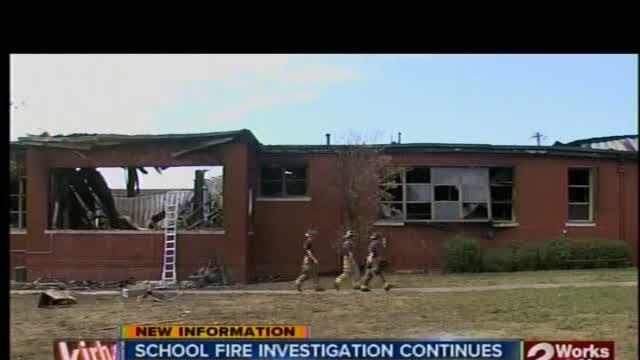 TSAS fire investigation