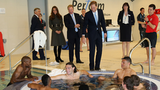 Video: Kate Middleton Starts Her Day With Shirtless Soccer Players