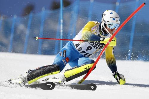 Andre Myhrer remporte le slalom d'Aspen