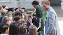"Prince Harry warns school children ""they shouldn't really play Fortnite"" during Brighton visit"