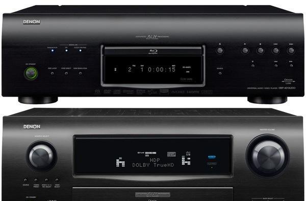 Denon keeps high-end covered with AVR-4810CI receiver, DBP-4010CI universal Blu-ray player and ASD-51 iPod docks