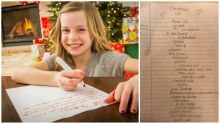 'She must be out of her mind': 10-year-old girl's $20k Christmas list leaves everyone baffled