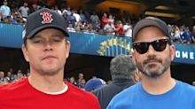 Matt Damon And Jimmy Kimmel Renew Feud At World Series Game