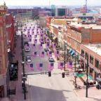 Coronavirus Pandemic Leaves Downtown Denver Looking More Like a Ghost Town