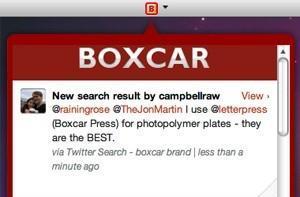 Boxcar Beta for Mac available, brings notifications to Mac
