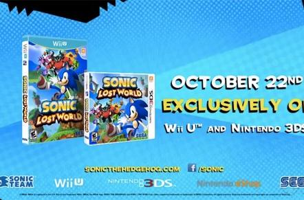 Sonic: Lost World plots a path to retail October 22