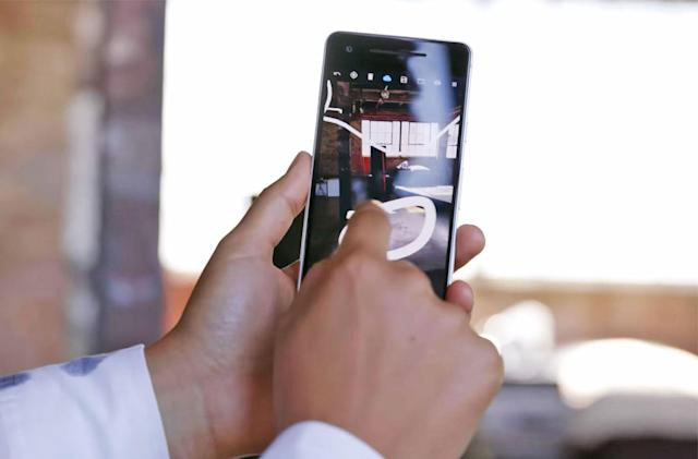 More than 60 new apps support Android's AR platform