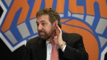 As boos rain down on the Knicks, owner James Dolan comes out for an encore