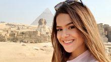 """Maisa dança """"É o Tchan"""" em frente às pirâmides em viagem: """"Mistura do Brasil com o Egito"""""""