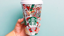 It's 2017 and Starbucks is under fire for featuring gay couple on Christmas cups