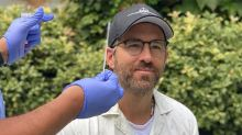 See Ryan Reynolds get coronavirus test as he returns to work on Netflix's Red Notice
