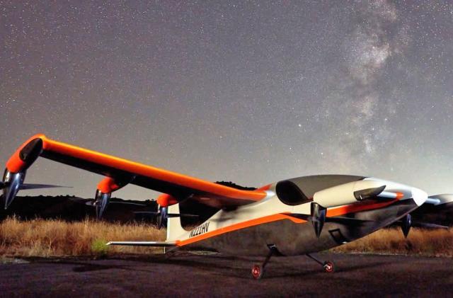 Kitty Hawk's 'Heaviside' is an ultra-quiet electric flying machine