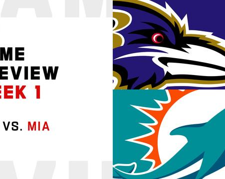 Ravens vs  Dolphins preview | Week 1