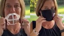 A teacher came up with a $13 fix that allows her to speak clearly through her mask to students all day
