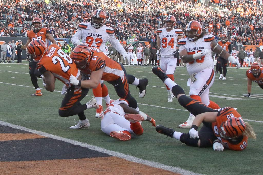 Browns/Bengals might mean something, at long last