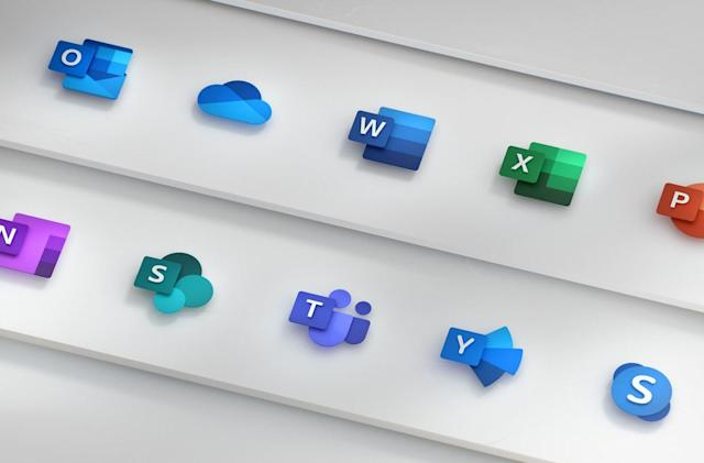Microsoft's redesigned Office icons reflect its move to the cloud