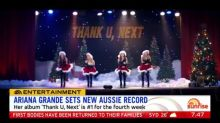 Jonas Brothers hit #1 in Australia and Ariana Grande sets new Aussie record