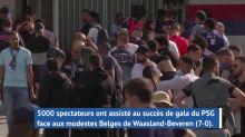 Amical - Quatre mois après, le PSG a retrouvé le Parc... et ses supporters !