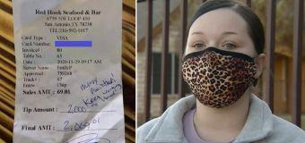 Backlash after restaurant 'denies waitress $2700 tip'