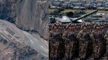 As dis-engagement continues, Chinese remain in aggressive posture at Depsang Plains