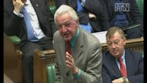 Dennis Skinner's attack on Tories over party funding changes