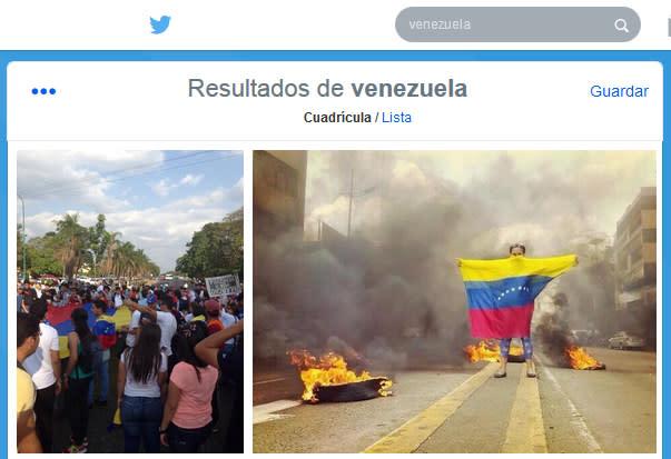 Twitter confirma que Venezuela está censurando imágenes de las protestas