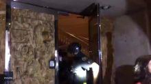 Portland Police Retreat Into Precinct Building as Riot Declared