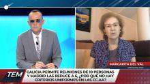 El muy pesimista augurio de la viróloga Margarita del Val de cara a la Navidad