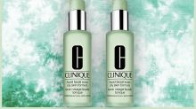 Hurry! Grab this pair of iconic Clinique face cleansers for just $19—50 percent off!