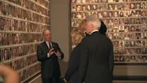 President Obama tours new 911 museum